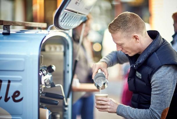 Fremragende Kaffe-Mølle | Book kvalitetskaffe til dit event eller fest OC62